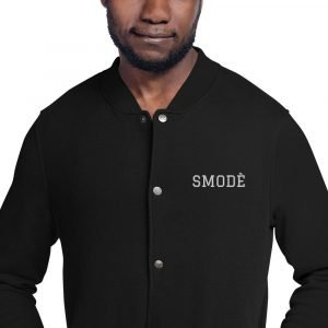 SMODÈ EMBROIDERED BOMBER JACKET